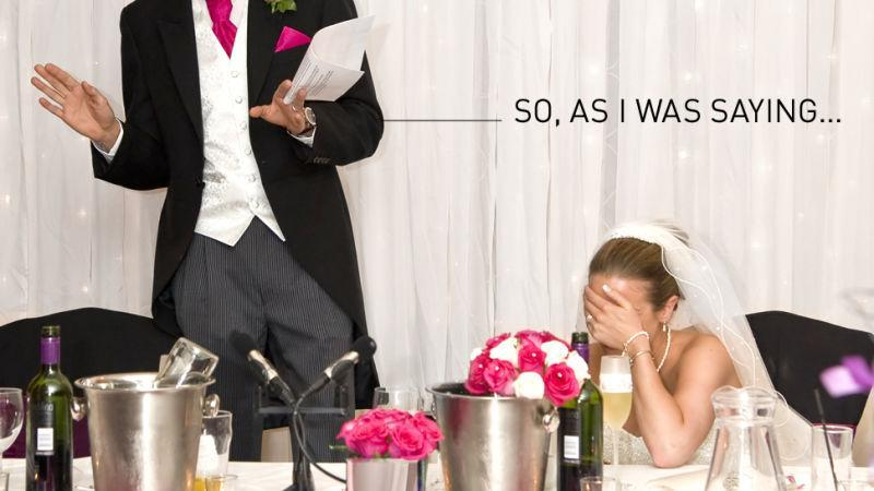 Bad Wedding Toasts